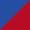 Azul Royal / Vermelho