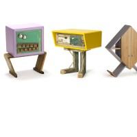 Dare un tocco giocoso e vintage alla casa: i mobili-pupazzi