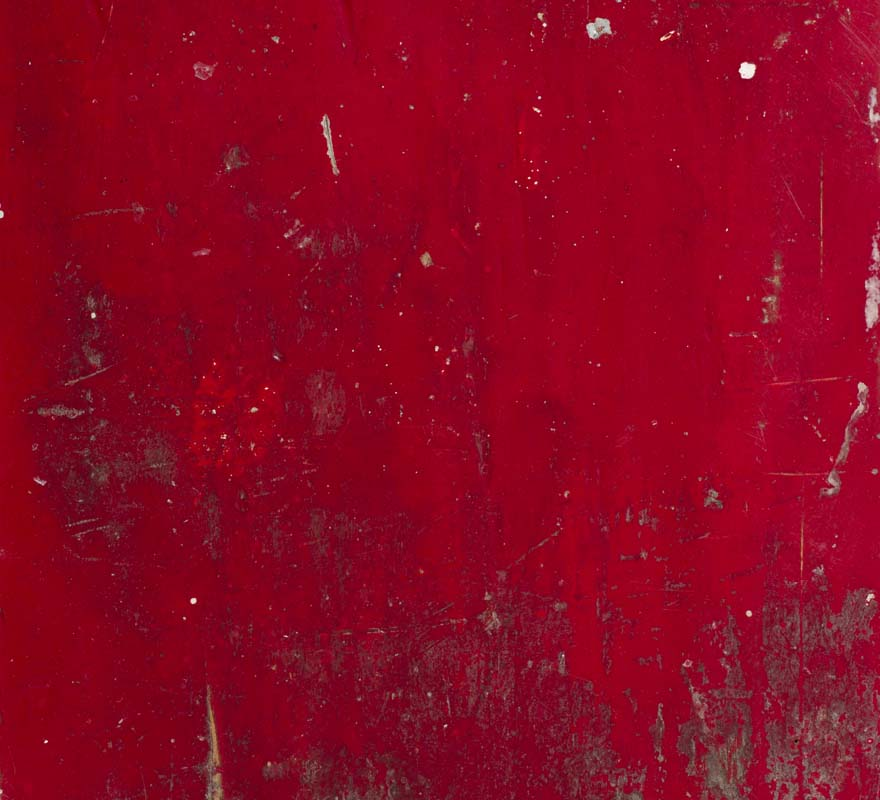 Legno rosso vintage per madia contemporanea