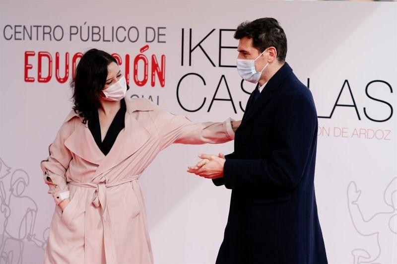 Iker Casillas y Díaz Ayuso