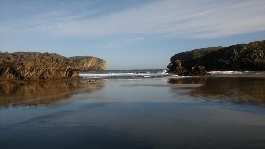 Playa de Borizu Llanes, Asturias
