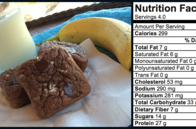Chocolate Chip Peanut Butter Coconut Protein Bars