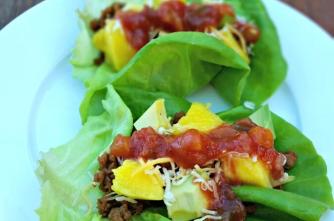 Meatless Tropical Tacos