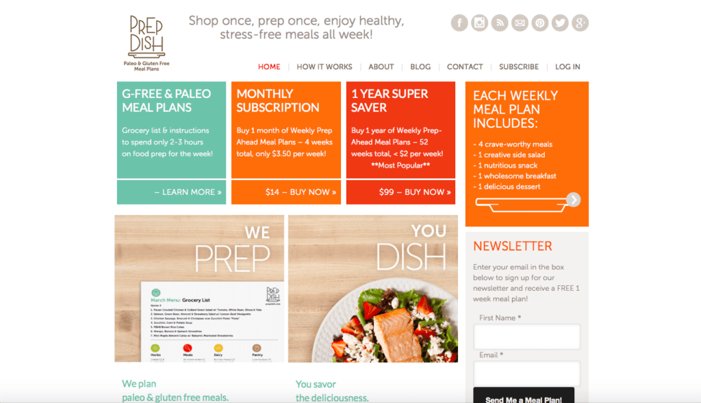 Do you need help planning your meals? Do you need meal prep ideas? If so then you'll love Prep Dish. #sponsored