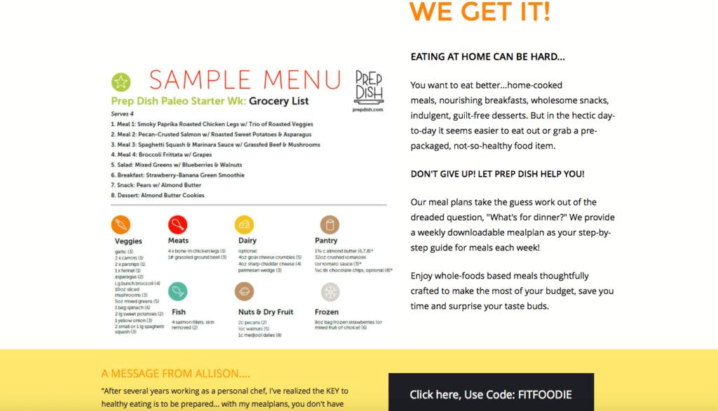 Meal Prep. Meal planning. Prep Dish. #sponsored