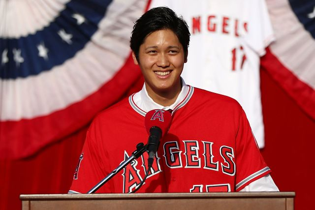Los Angeles Angels of Anaheim Introduce Shohei Ohtani