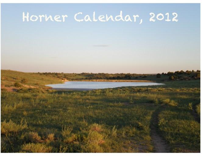 Horner Calendar 2011 Cover