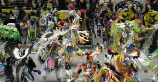 Gathering of Nations Powwow 2012
