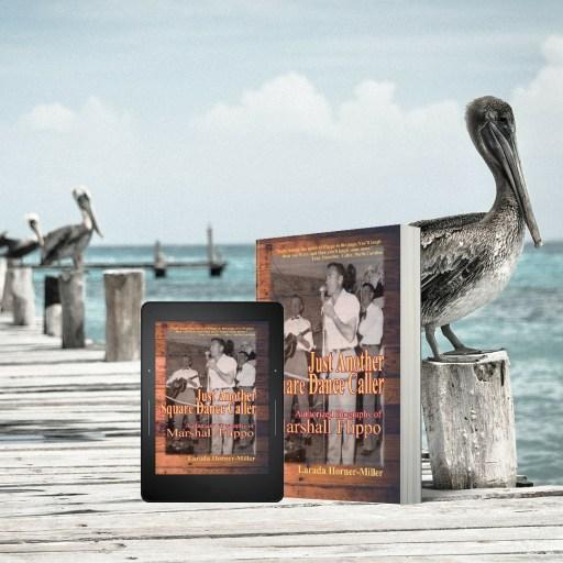Flippo's Book Cover & pelicans - my birthday