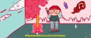#ChispasSeQuedaEnCasa