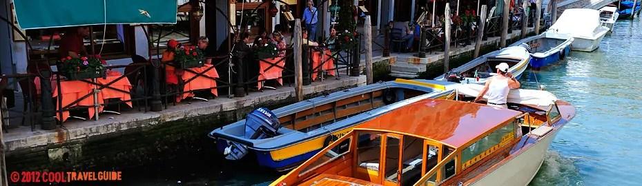 The romance of Venice, Italy.