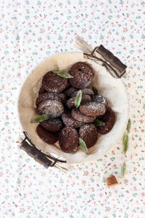 sablés cacao verveine