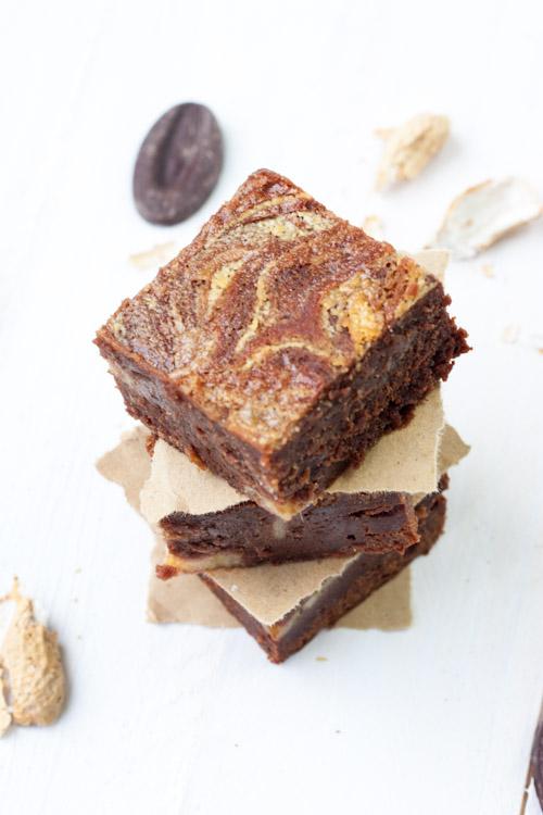 Brownie Chocolat-Bananes et Beurre de Cacahuètes