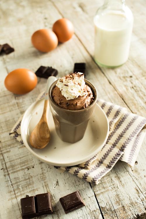 juste une mousse au chocolat