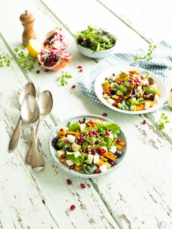 salade patate douce grillée grenade