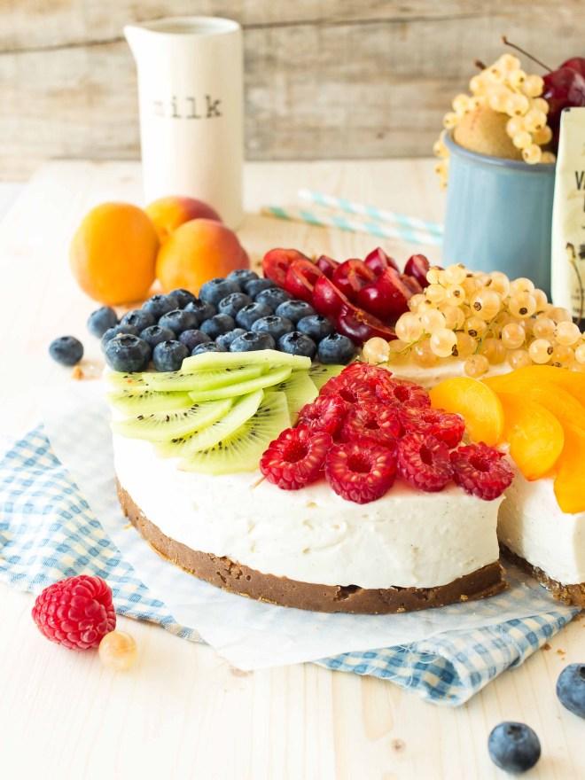 cheese cake multi fruits