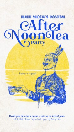 Club Halfmoon Afternon Tea Teaparty Boston |larafinesse