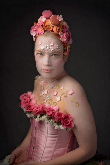 Portrait Of Kristina Dillard, Seattle Cake Artist, By Seattle Photographer Lara Grauer Photography