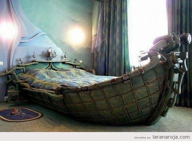 Resultado de imagen para barco cama