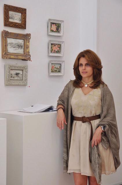 La exposición de Velina Ivanova y Eugenio Díaz