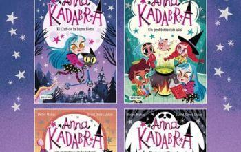 anna kadabra - libros de brujas para niños