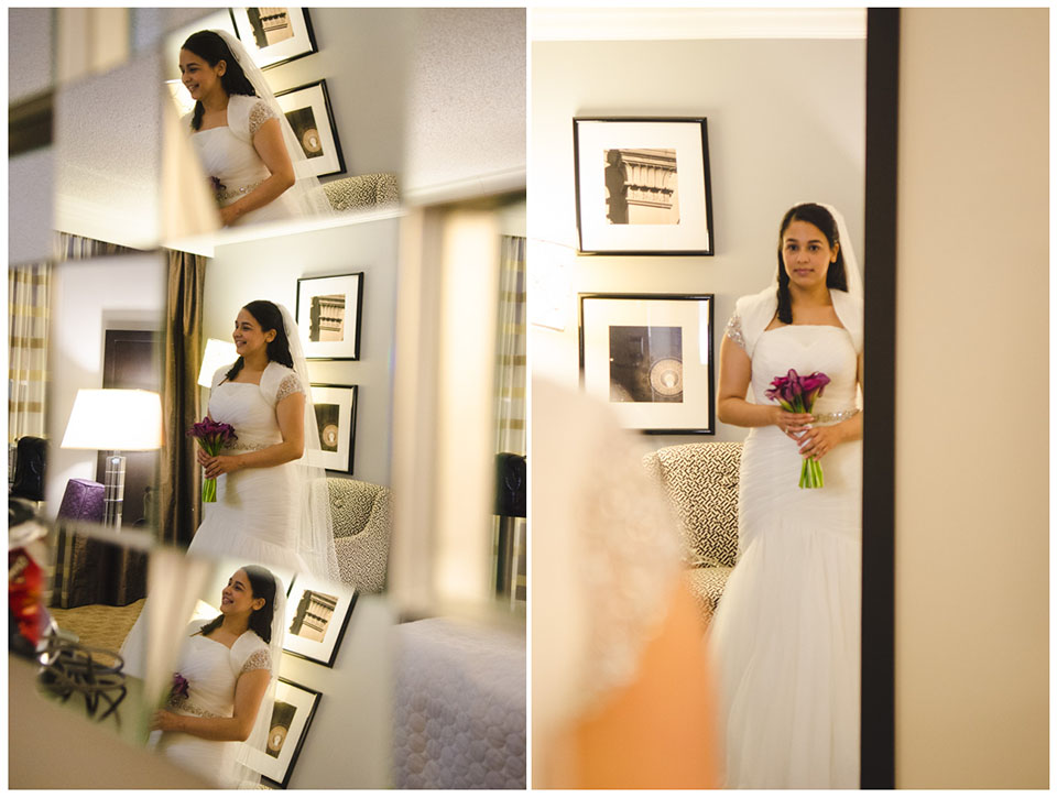 Crown Plaza Suffern-Mahwah Hotel | Bride Dress Shot by Lara Photography