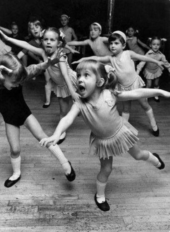 Fillette danseuse