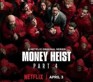 Netflix Money Heist Part 4 cover photo