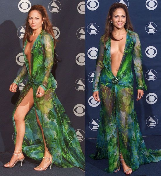 """""""Jennifer Lopez's Versace Grammys dress is THE REASON Google Image Search exists"""""""