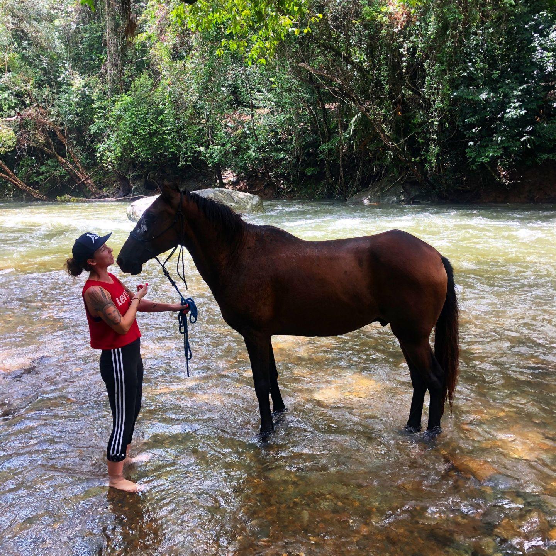 Lara Lain larasstory Cairns horse riding