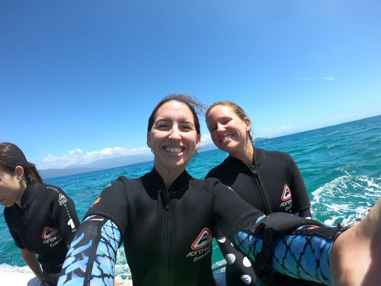 Lara Lain larasstory blog Frankland Islands diving great barrier reef september 2019