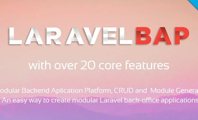 Laravel BAP will be here soon!
