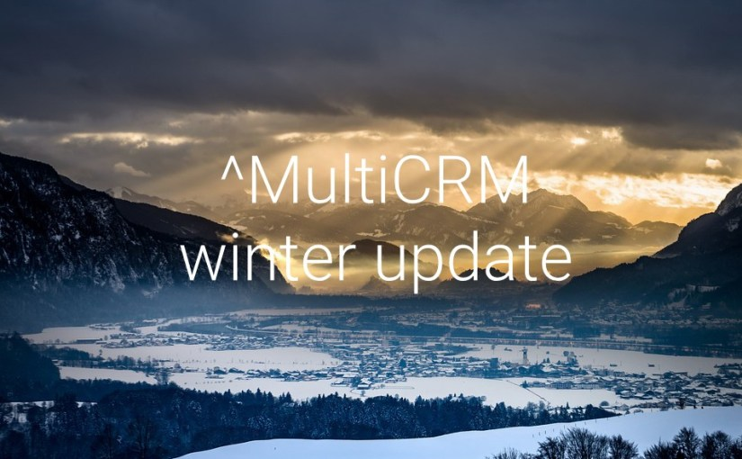 MultiCRM Winter Release – 2.0