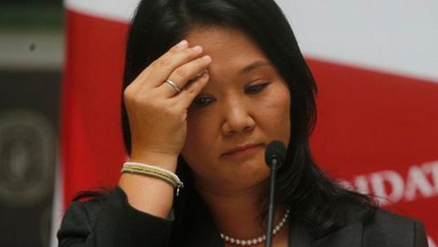 Keiko Fujimori alcanzó un 83% de desaprobación, según Datum - La Razón