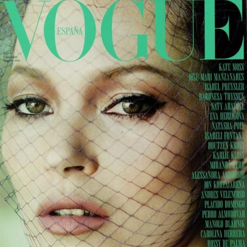 Kate Moss por Mario Testino para Vogue L'Arca bcn