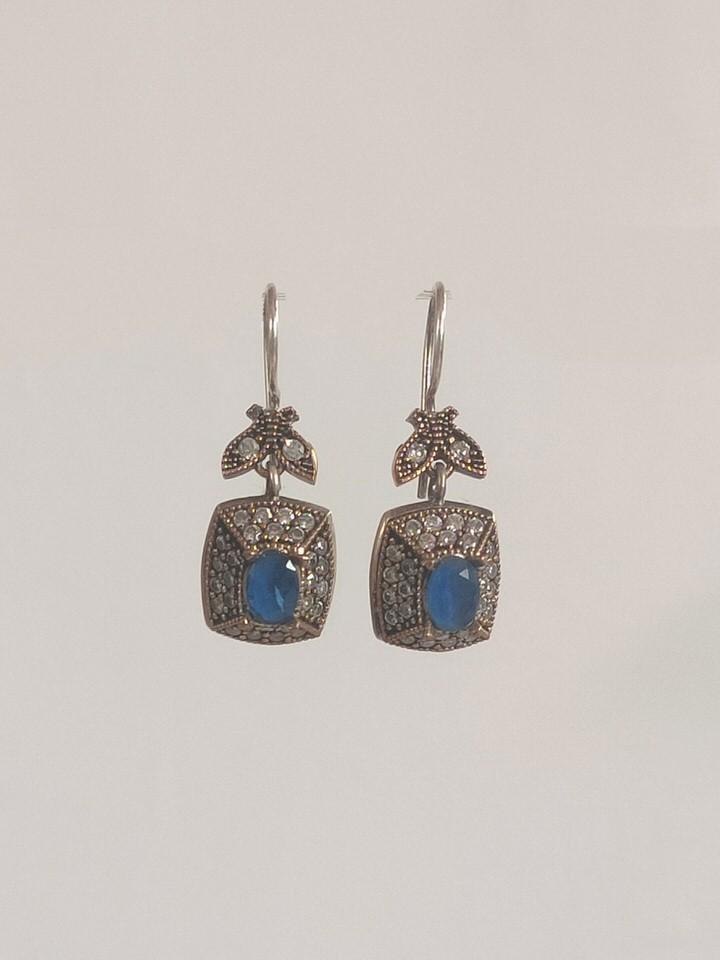 pendientes-otomano-azul-cuadrados
