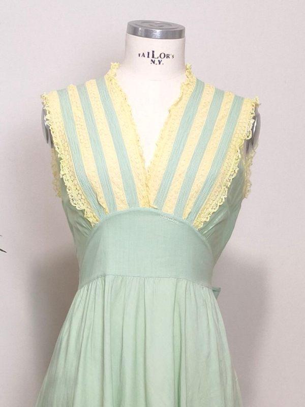 vestido-romantico-vintage-verde
