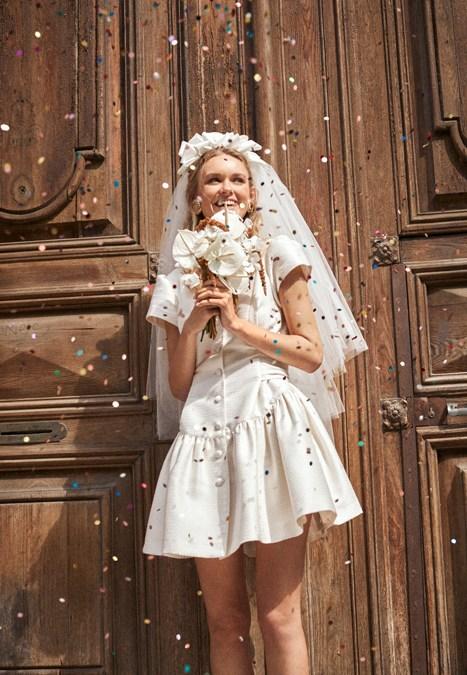 Vestido De Novia Civil Elegante Y Sencillo Abril 2021 L Arca Barcelona