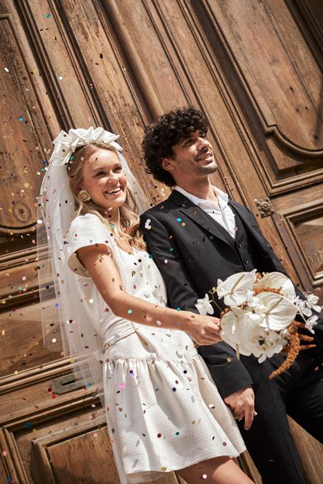 vintage wedding dress civil wedding