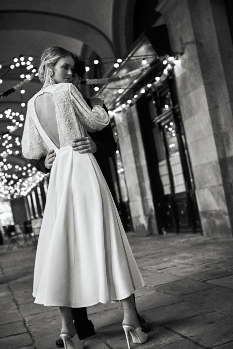 Vintage puff sleeve wedding dressVintage puff sleeve wedding dress
