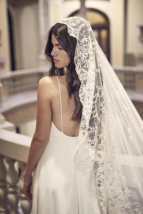 vestido de novia vintage boda civil