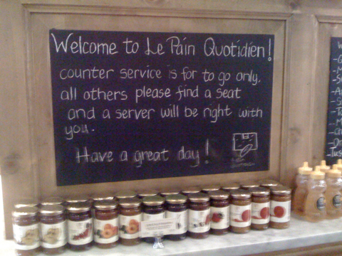 Le Pain Quotidien in Larchmont Village