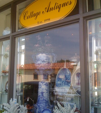 Cottage Antiques in Larchmont Village, Los Angeles