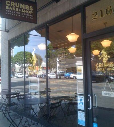 Crumbs Bakeshop in Larchmont Village, Los Angeles