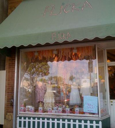 Flicka Children's Clothing in Larchmont Village
