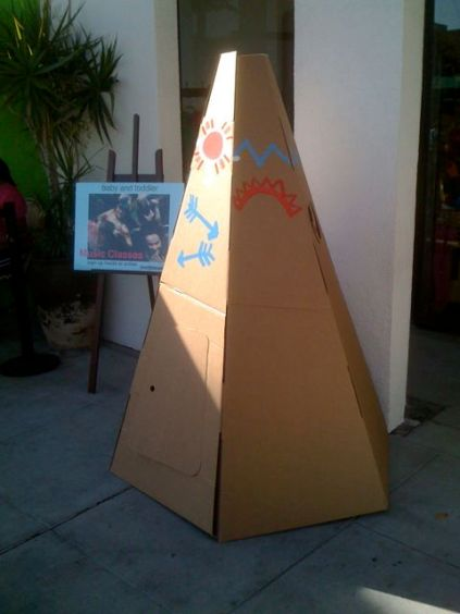 Teepee at The Little Seed in Larchmont Village