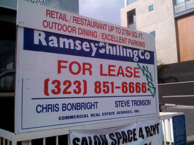 For Lease at 639 N Larchmont Blvd
