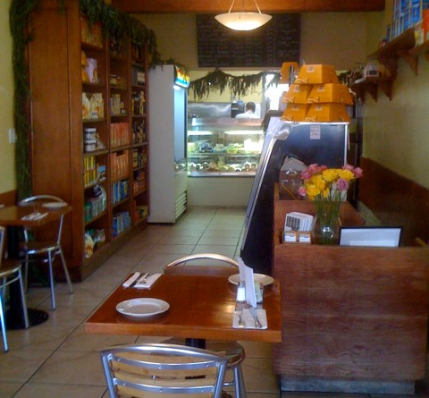 Inside La Bottega Marino in Larchmont Village