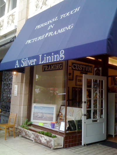 A Silver Lining - Picture Framing in Los Angeles