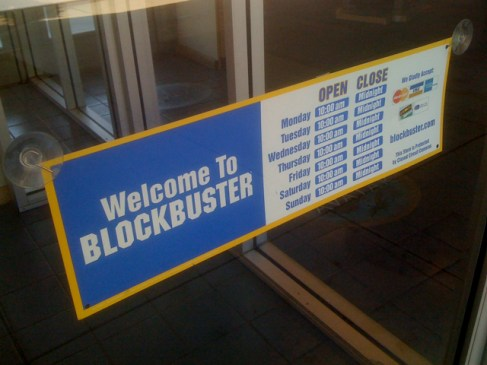 Blockbuster in Larchmont Village!